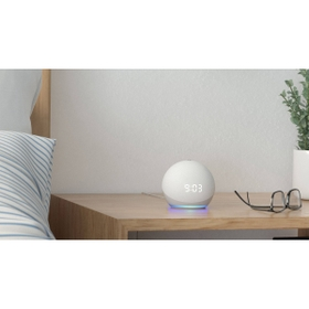 Meet the all new Echo Dot with clock