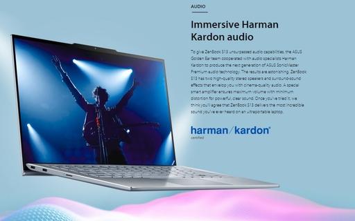 Immersive Harman Kardon audio