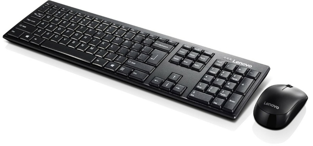 Lenovo 100 Wireless Combo Keyboard and Mouse