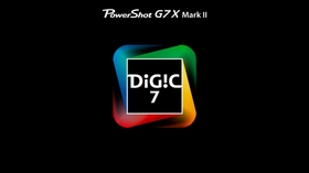 20.1MP 1inch CMOS Sensor and DIGIC 7 Image Processor