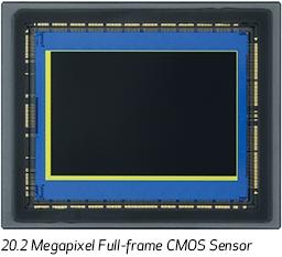 20.2 Megapixel Full-Frame CMOS Sensor