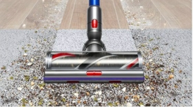 Powerful cleaning on floors and carpets