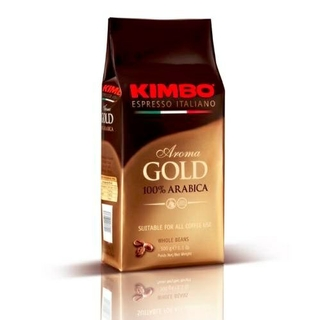Kimbo Aroma Gold 100% Arabica Whole Bean Espresso - 500G