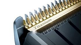 Self-sharpening titanium blades