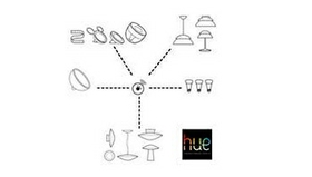 Connect up to 50 hue bulbs and lamps