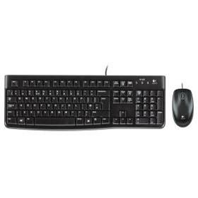 لوحة المفاتيح والفأرة السلكية من لوجيتك