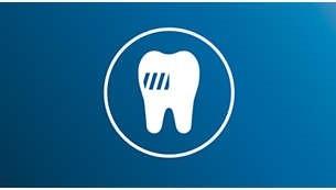ما يصل إلى 10 أضعاف إزالة البلاك من فرشاة الأسنان اليدوية