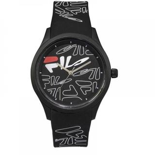Fila 40mm Unisex Analogue Rubber Sports Watch (38129202) - Black