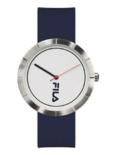 Fila 42mm Unisex Analogue Rubber Sports Watch (38174002) - Navy Blue