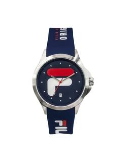 Fila 40mm Unisex Analogue Rubber Sports Watch (38181002) - Navy Blue