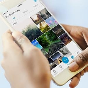 Western Digital MyCloud Home Hard Drive | Mobile, On-the-Go