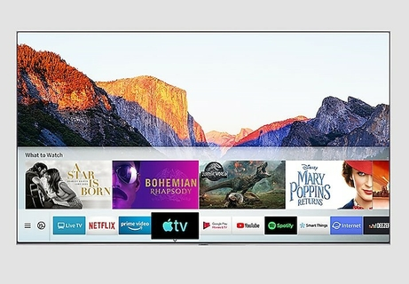 QLED meets the new Apple TV app Apple TV