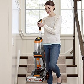 Powerful suction to overcome tough messes