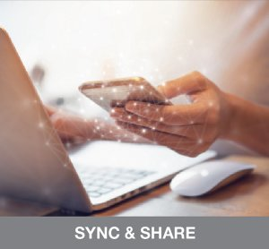 Sync and share