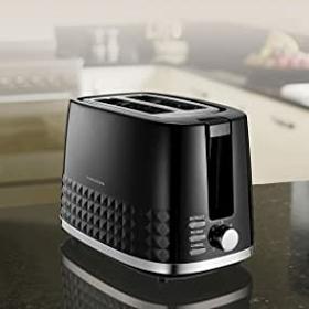 Morphy Richards 220021 Dimensions 2 Slice Toaster Black