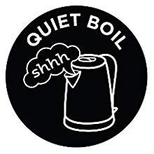 Quiet boil technology