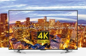 Sharp 58-Inch Ultra HD (2160p) Smart LED TV - LC-58UE630X