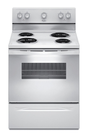 Whirlpool electric freestanding cooker