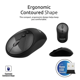 Ergonomic Contoured Shape