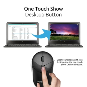 One Touch Show Desktop Button