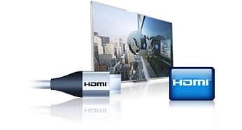 مدخل USB و HDMI للاتصال المتكامل