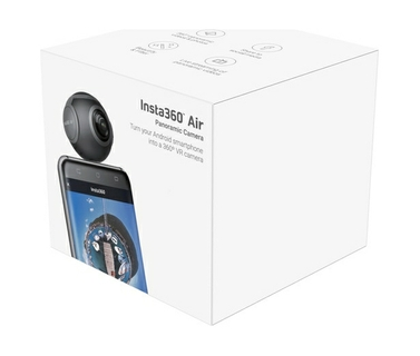 Turn your Android Smartphone into a 360° Camera
