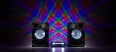 LED Speaker Lights Create A Party Atmosphere