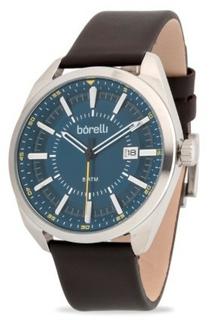 Borilli Men's Leather Watch