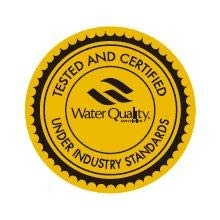 Tested & certified by WQA