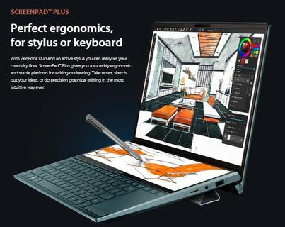 Perfect ergonomics, for stylus or keyboard