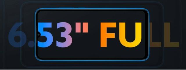 "IMMERSIVE 6.53"" HD+ DISPLAY"