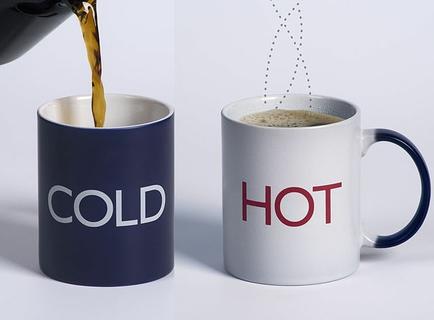 احصل على الماء الساخن أو البارد