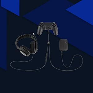 Audio Adapter for PS4 & PS4 Pro