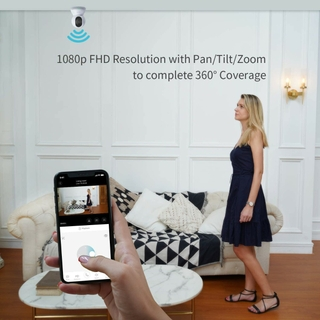 360°Coverage with 1080p Resolution