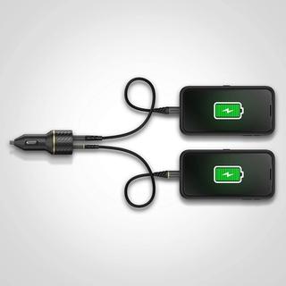 OtterBox Car Charger 30W - USB-C 18W + USB-A 12W USB-PD