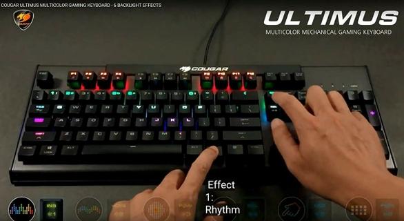 ULTIMUS RGB Metal-Based RGB Mechanical Gaming Keyboard