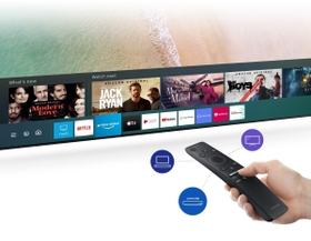 Access various contents with one remote
