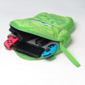 HORI Splatoon 2 Squid Plush Pouch for Nintendo Switch