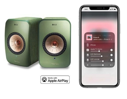 شغل Apple AirPlay 2 على LSX