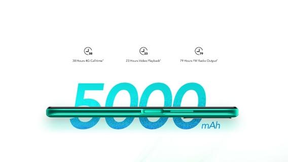 Massive 5000mAh Battery