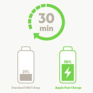 Supports USB Power Delivery Fast Charging