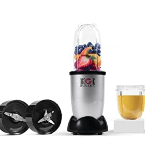 Magic Bullet Chops, Dices, Grates, Grinds, Blends & Juices! The Magic Bullet is the most versatile tool in the kitchen.