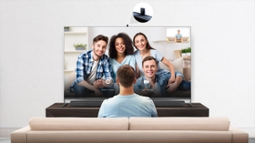 Video Chat From TV on Big Screen