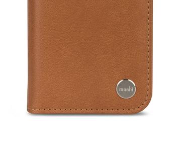 Folio-style Vegan Leather Wallet Case