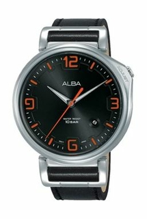 Alba Leather Watch