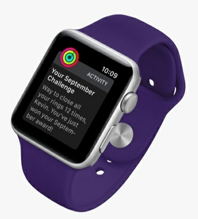 Achievements:  Apple Watch Celebrates Each Milestone With You.
