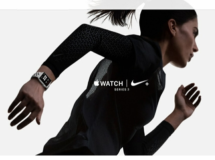 e75ecc24d4f4b Apple Watch Series 3 Nike+  Unleash Your Run.