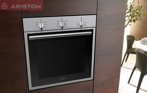 why to buy ariston 60cm 59 litre built in electric oven  fk62xs    silver   ariston 60cm 59 litre built in electric oven  fk62xs    silver      rh   xcite com sa