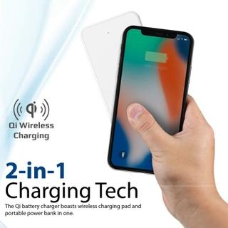 Promate AuraVolt-10+ 10,000mAh Qi Wireless Charging Power Bank