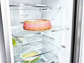 Multi Airflow System: The fridge that regulates itself.